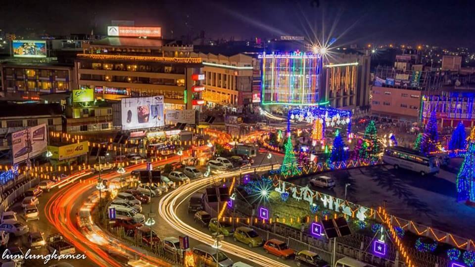 Shillong travel in Christmas