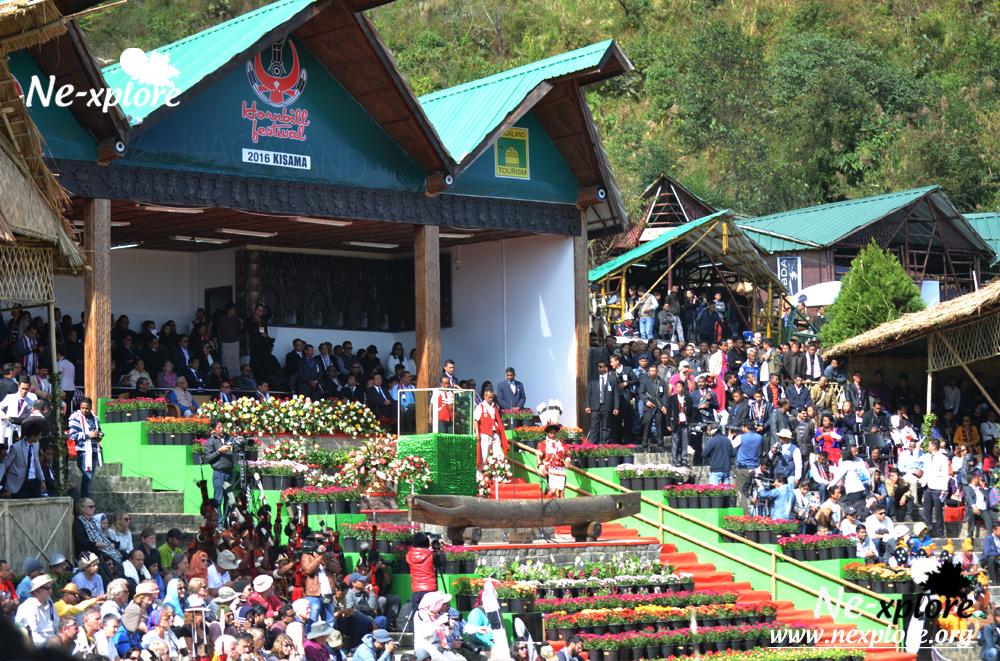 Hornbill Festival inauguration ceremony