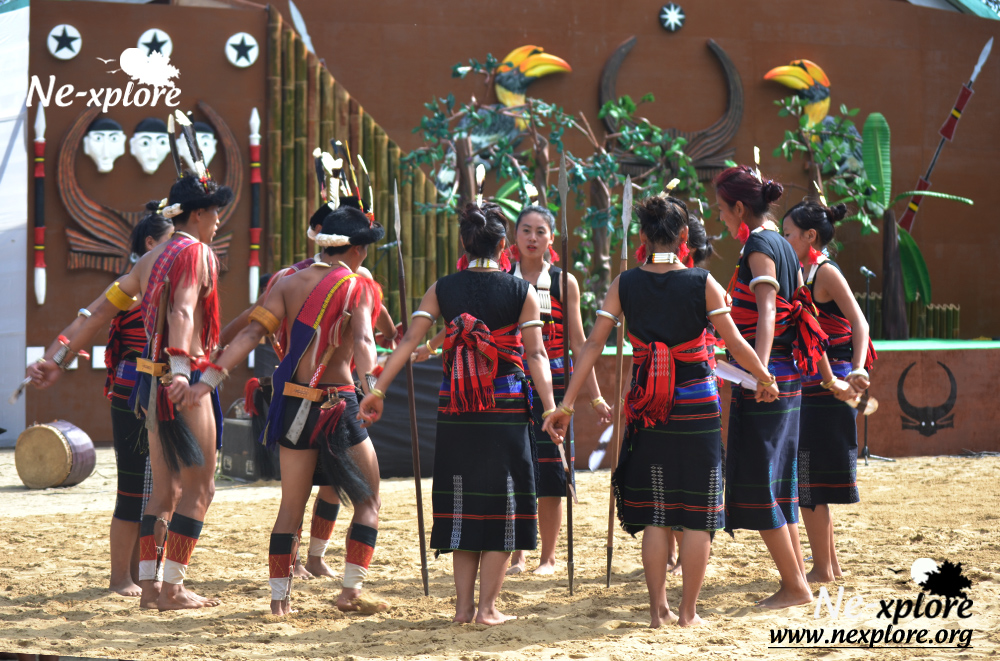 Tribal dance Nagaland