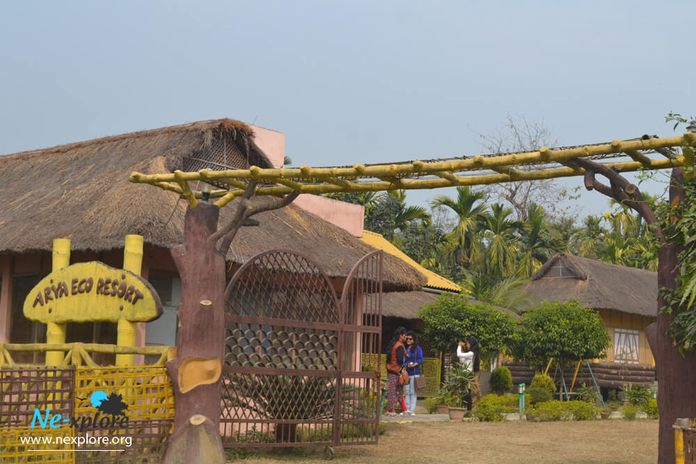 Arya eco resort pobitora